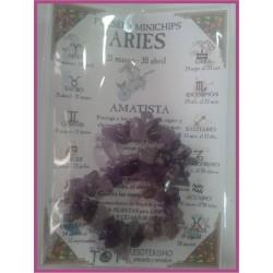 ARIES - PULSERA minerales minichips