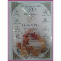 LEO - PULSERA minerales minichips