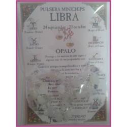 LIBRA - PULSERA minerales minichips