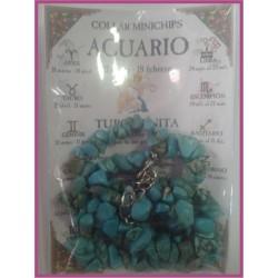 ACUARIO - COLLAR minerales minichips