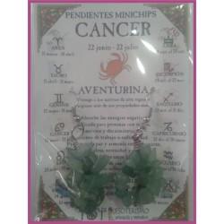 CANCER - PENDIENTES minerales minichips