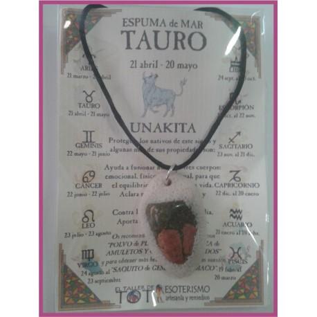 TAURO - Colgante ESPUMA de MAR