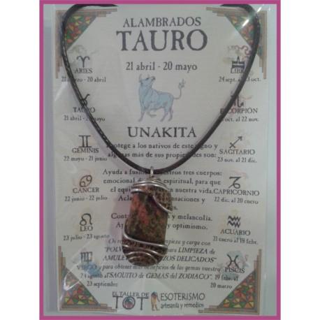 TAURO - Colgante ALAMBRADO MEDIEVAL
