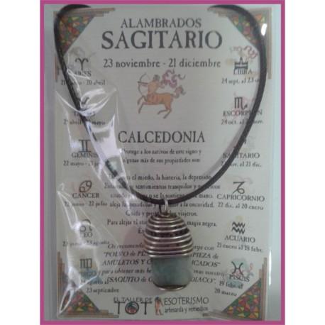 SAGITARIO - Colgante ALAMBRADO MEDIEVAL