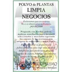 Polvos de plantas LIMPIA NEGOCIOS