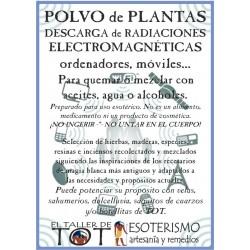 Polvos de plantas RADIACIONES