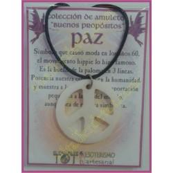 AMULETO BP - PAZ hueso blanco 01