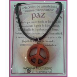 AMULETO BP - PAZ madera 01