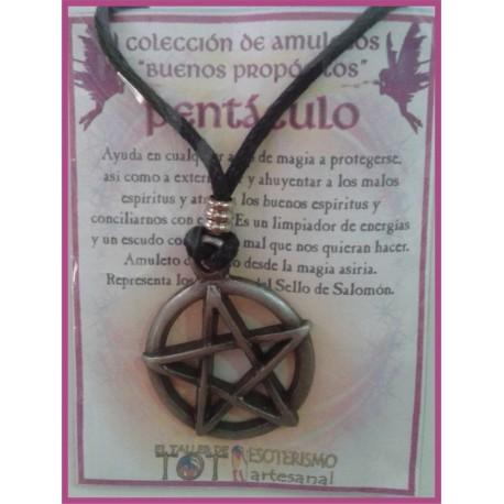 AMULETO BP - PENTÁCULO 01