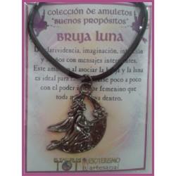 AMULETO BP - BRUJA LUNA plateada 01