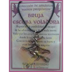 AMULETO BP - BRUJA ESCOBA VOLADORA 01