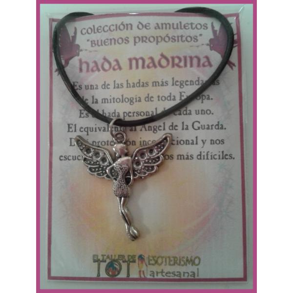 AMULETO BP - HADA MADRINA plateada 01
