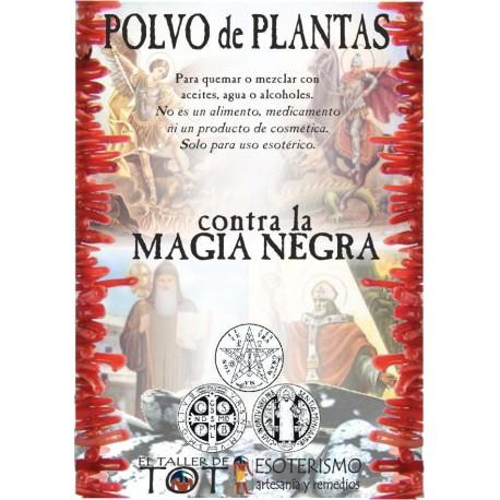 Polvos de plantas Contra la MAGIA NEGRA