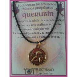 AMULETO BP - QUERUBÍN dorado medalla 01