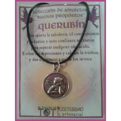 AMULETO BP - QUERUBÍN plateado medalla 01