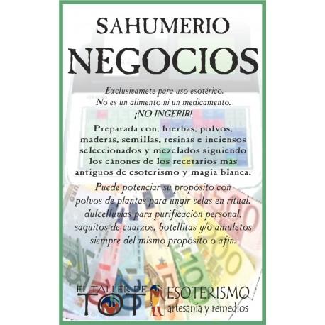SAHUMERIO -*- NEGOCIOS