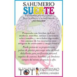SAHUMERIO -*- SUERTE