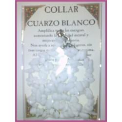 COLLAR chips -*- CUARZO BLANCO
