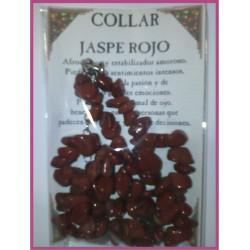 COLLAR chips -*- JASPE ROJO
