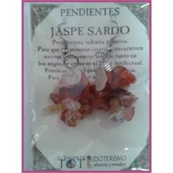 PENDIENTES chips -*- JASPE SARDO