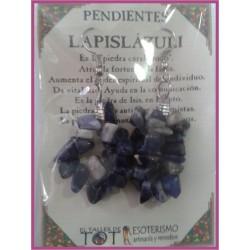 PENDIENTES chips -*- LAPISLÁZULIPENDIENTES chips -*- LAPISLÁZULI