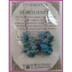 PENDIENTES chips -*- TURQUENITA