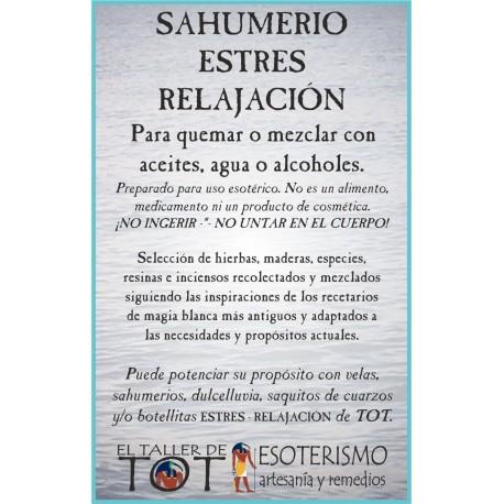 SAHUMERIO -*- ESTRES - RELAJACIÓN
