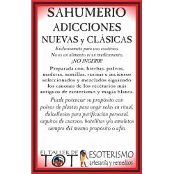 SAHUMERIO -*- ADICCIONES