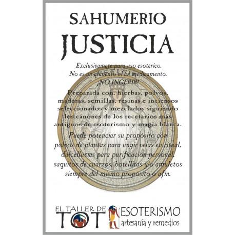 SAHUMERIO -*- JUSTICIA