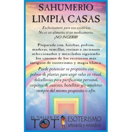 SAHUMERIO -*- LIMPIA CASAS
