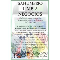 SAHUMERIO -*- LIMPIA NEGOCIOS