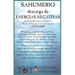 SAHUMERIO -*- ENERGÍAS NEGATIVAS