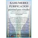 SAHUMERIO -*- PURIFICADOR RITUAL