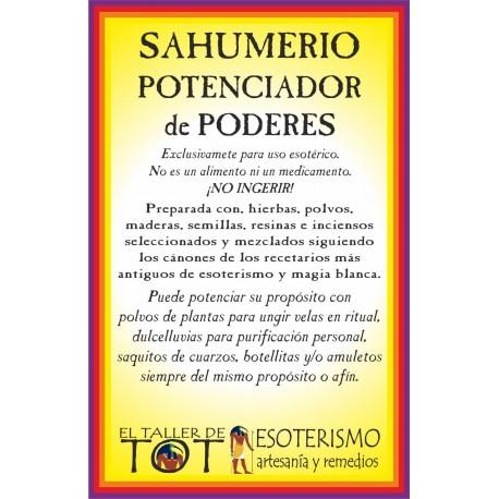 SAHUMERIO -*- POTENCIA PODERES