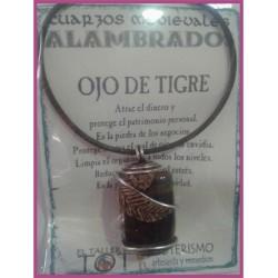 COLGANTE MEDIEVAL ALAMBRADO -*- OJO DE TIGRE