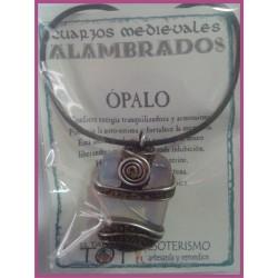 COLGANTE MEDIEVAL ALAMBRADO -*- OPALO