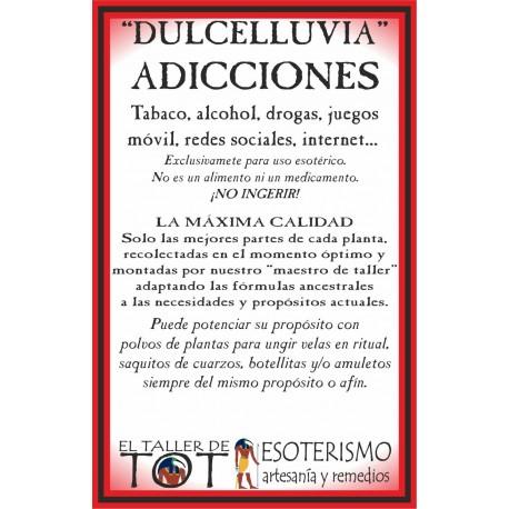 DULCELLUVIA -*- ADICCIONES