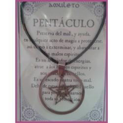 AMULETO ACERO PENTACULO 02