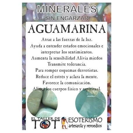 Mineral -*- AGUAMARINA