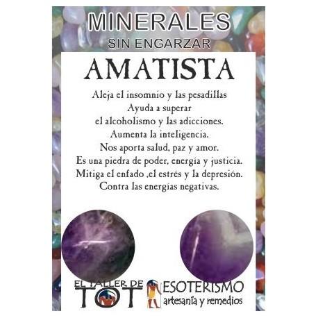 Mineral -*- AMATISTA