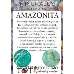 Mineral -*- AMAZONITA