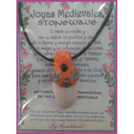 JOYA MEDIEVAL STONEWAVE BLANCA - ESMERALDA