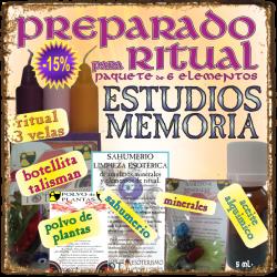KIT para RITUAL -*- ESTUDIOS - MEMORIA