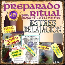 KIT para RITUAL -*- ESTRES - RELAJACIÓN
