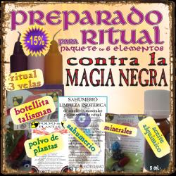KIT para RITUAL -*- CONTRA la MAGIA NEGRA