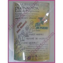 Sahumerio PLENAVIDA - Lista de propósitos