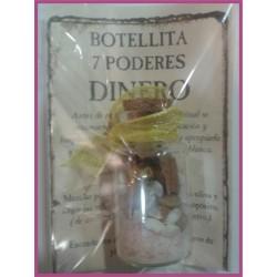 Botellita 7 PODERES -*- DINERO