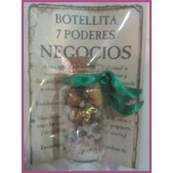 Botellita 7 PODERES -*- NEGOCIOS