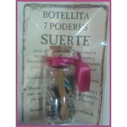 Botellita 7 PODERES -*- SUERTE