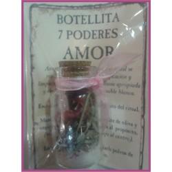 Botellita 7 PODERES -*- AMOR